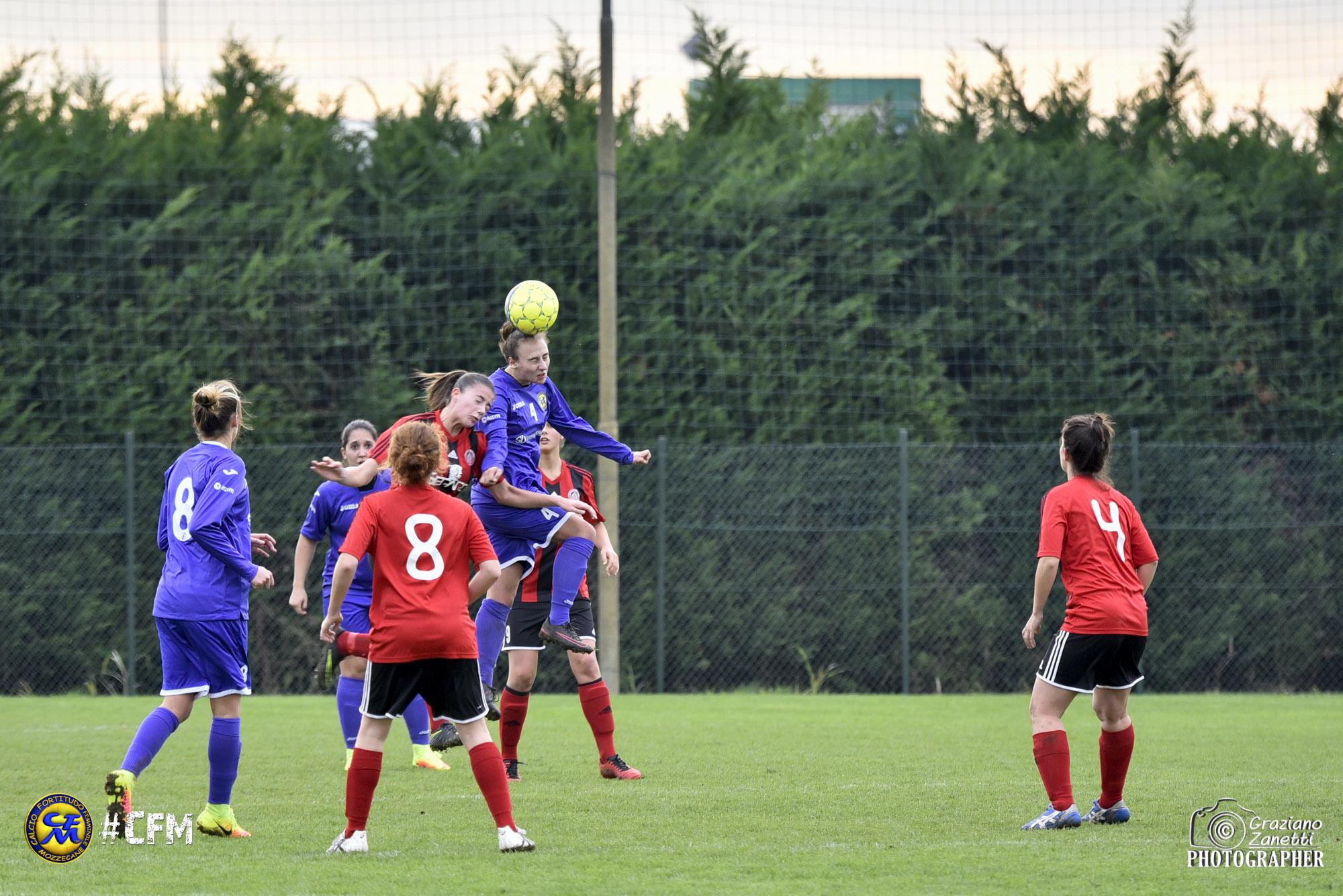 Serie B: Fortitudo Mozzecane, la «pareggite» non passa. Con il Milan Ladies finisce 0-0