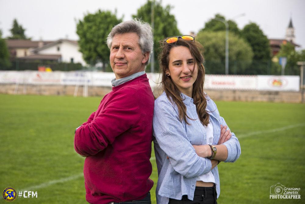 Alberto e Chiara, il calcio di padre in figlia: «Lui è un sostegno costante», «Lei mi rende veramente fiero»