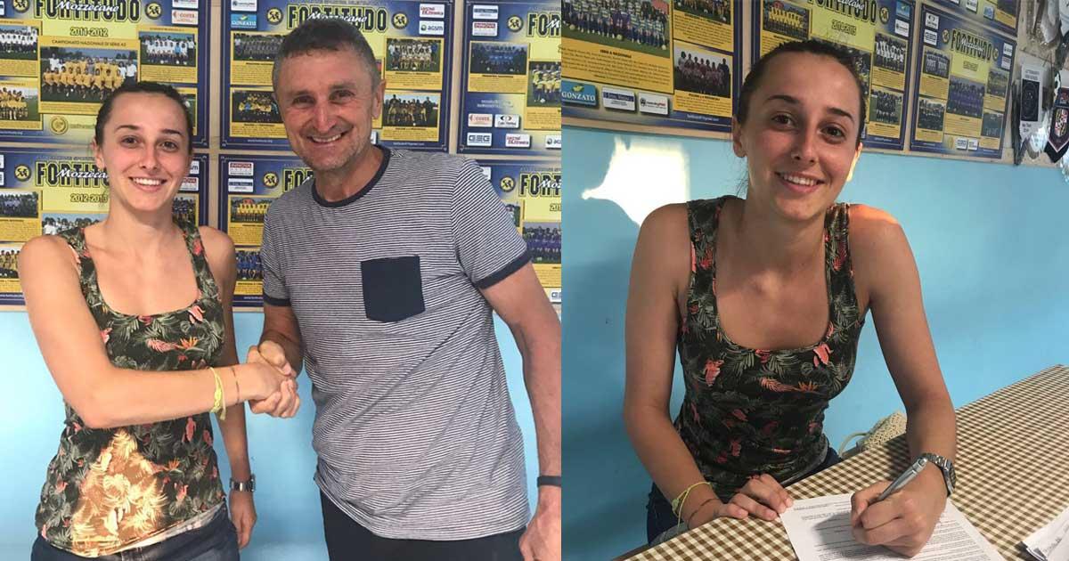 Giulia Caliari rinnova con la Fortitudo Mozzecane