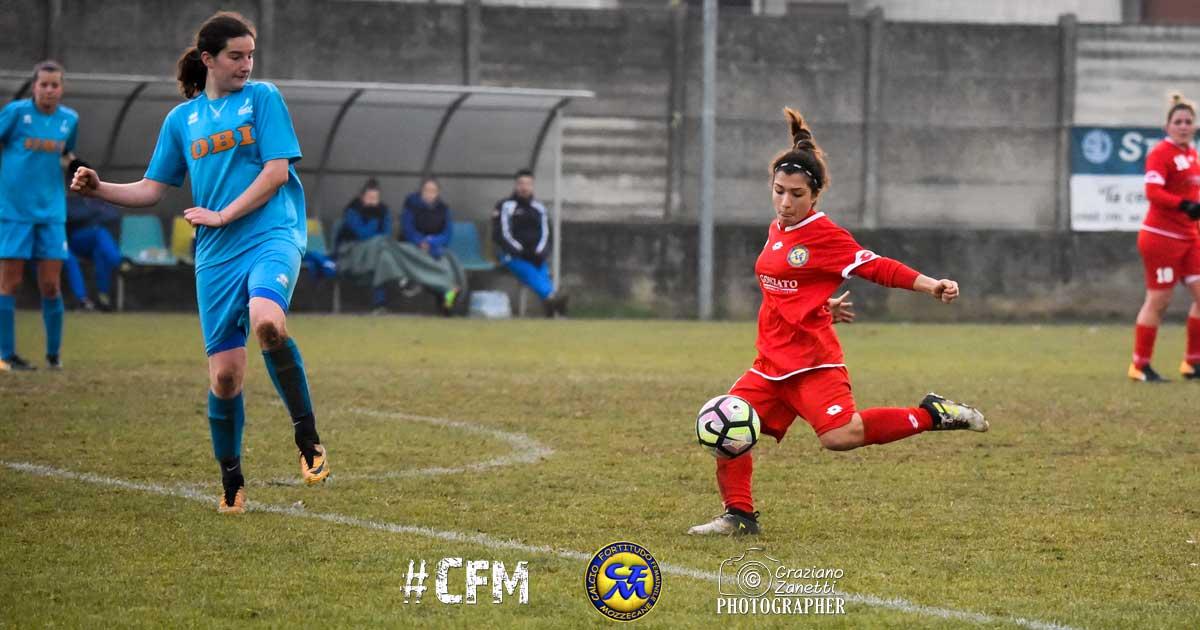 La giovane Chiara Mele trova il suo primo gol