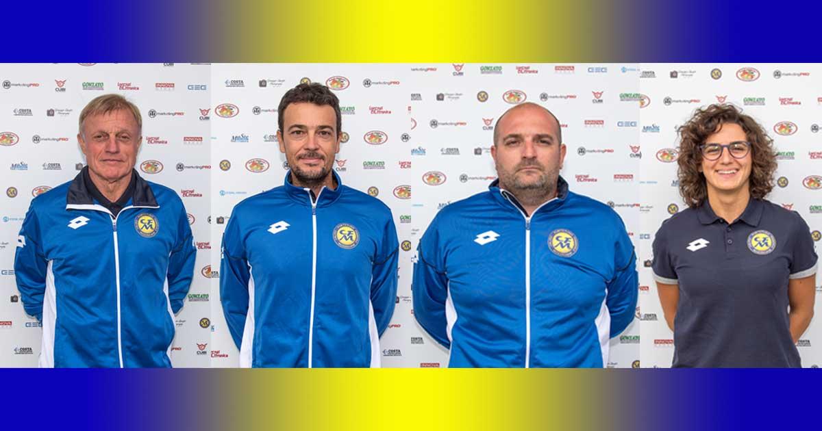 Lo staff gialloblù è pronto per la serie B nazionale