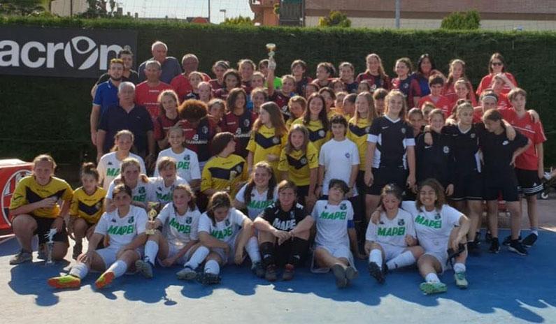 Pink Football, Miriam Magalini miglior portiere alla kermesse del calcio in rosa!