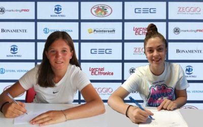 Due giovani new entry per il Chievo Fortitudo Women