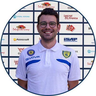 Vice Allenatore Mattia Pasotto