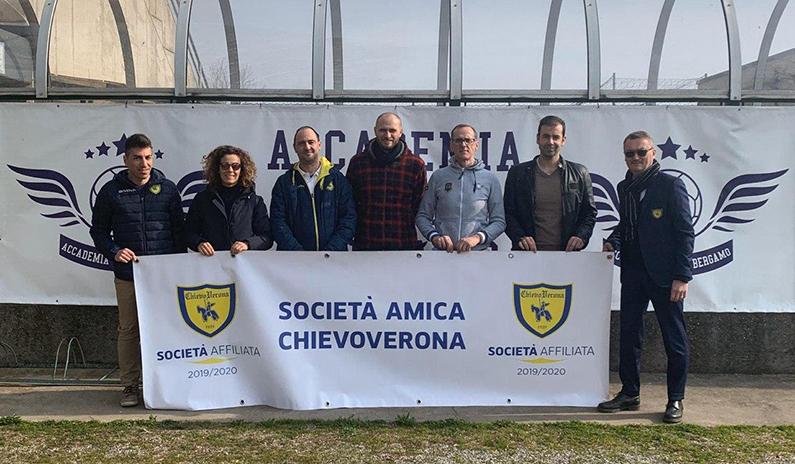 Nuova affiliazione tra ChievoVerona e Accademia Calcio Bergamo