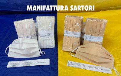 Manifattura Sartori: all'opera per un aiuto concreto