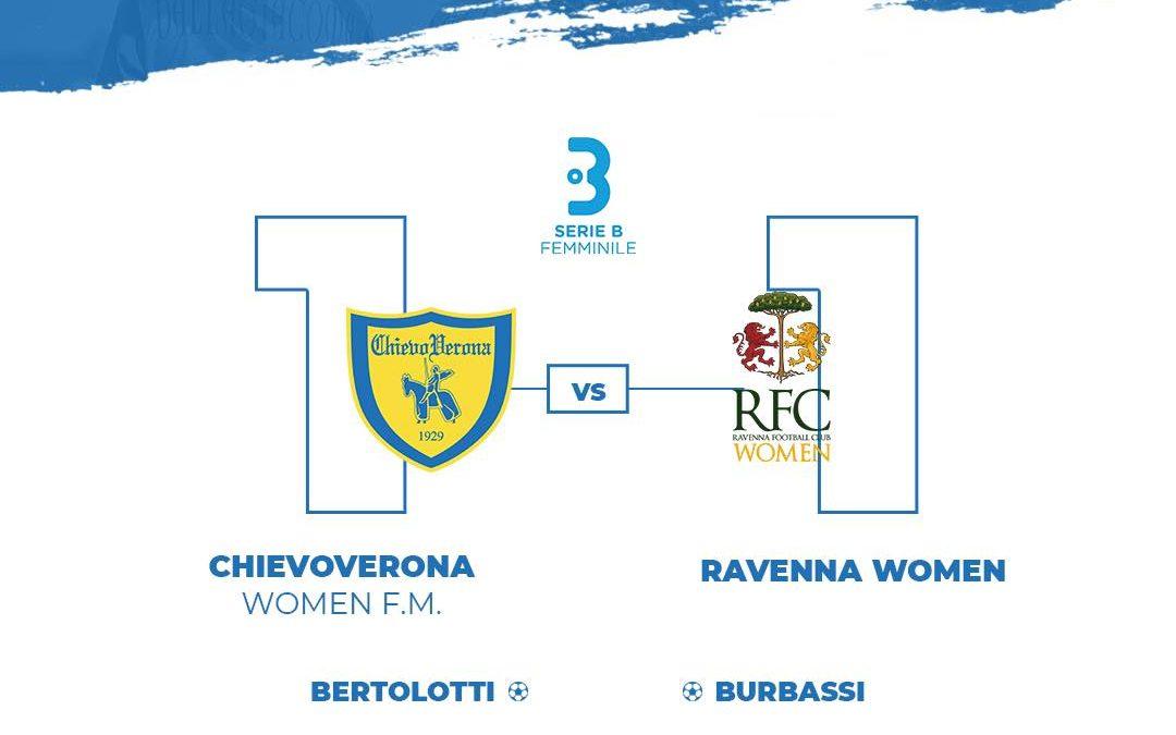 Chievo Verona Vs Ravenna Women