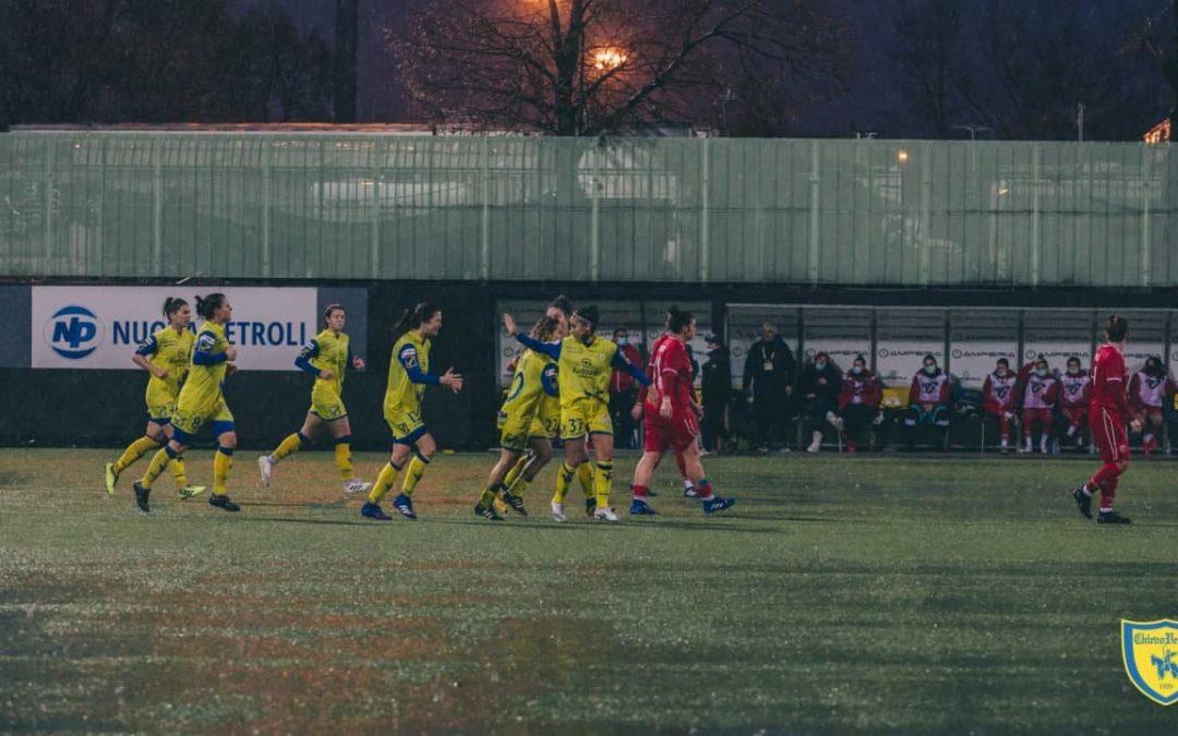 Chievo Women più forte della pioggia. Contro il Perugia finisce 3 – 1