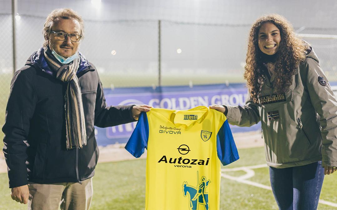 Ufficiale: dalla Juventus arriva Gaia Distefano