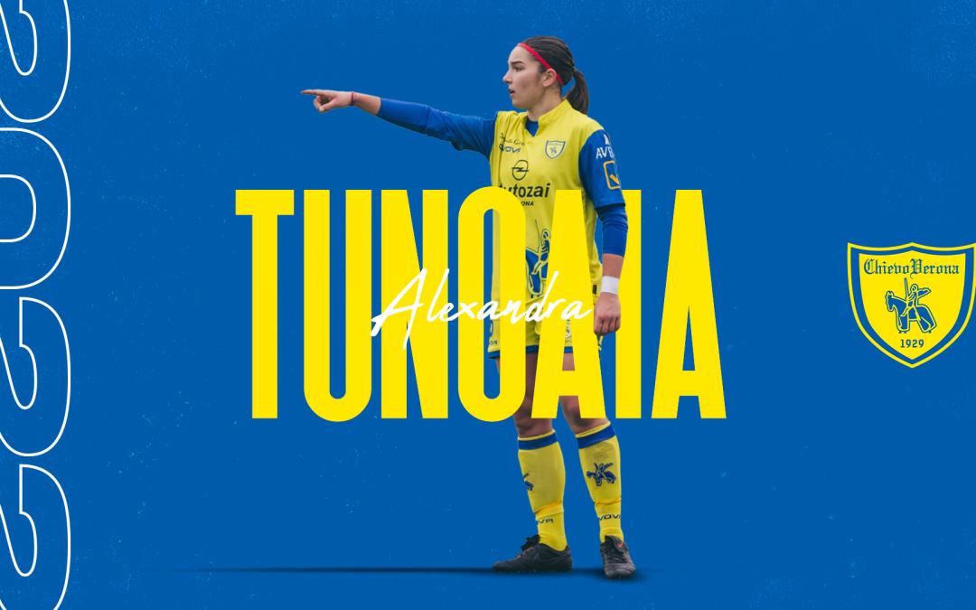 Alexandra Tunoaia prosegue la sua avventura al Chievo Women